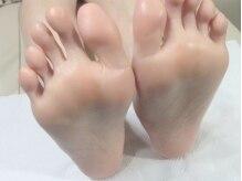 足裏ふっくら柔らかすべすべ肌♪