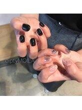 【nail】black × silver 初8600