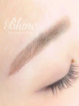 アイラッシュサロン ブラン 新潟西店(Blanc)の写真/ふんわり大人メイクは眉毛から♪アイブロウスタイリング初回¥5400(WAX脱毛 1回込)