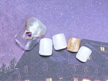 ネイルサロン キャンディネイル(Candy Nail)/定額フット ¥5940