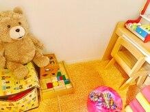 お子様連れに嬉しいキッズスペースやおもちゃあります(^^)