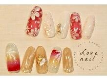 ラブネイル(LOVE NAIL)/定額12000円 c)