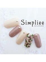 シンプリーネイル 表参道店(Simpliee Nail)/【D】定額ネイル初回¥4990