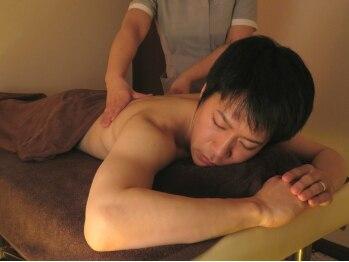 ビ ステラ(美☆stella)の写真/【男性歓迎】日々のお疲れを癒してくれる!毎日酷使しているお疲れの体を高品質ジェルでマッサージ☆
