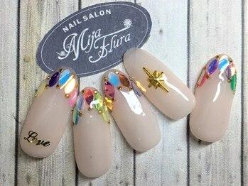 ホームネイルサロン 戸田 ミハ フルーラ(Home Nail Salon Mija Flura)/ラグジュアリー ¥7980 I51L