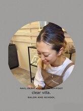 ネイルサロンクリアヴィラ(nail salon clear villa)RISA