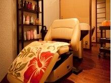 エステアンドリラクゼーション オハナ(esthe&relaxation Ohana)の雰囲気(ヘッドスパは美容業界で人気の高いYUMEシャンプー台を利用!)