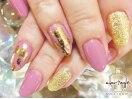 ピンク&ゴールド