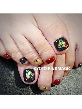 ピンクマジック(PINKMAGIC)/秋のフットネイル