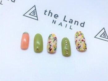 ザ ランド ネイル(the Land Nail)/芽吹きだす △浅井