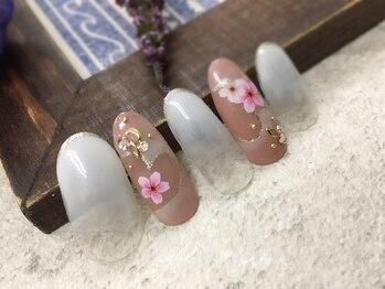ジュエルズ ネイル(Jewels Nail)/春デザイン豊富☆桜ネイル♪