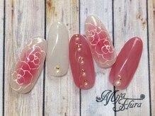 ホームネイルサロン 戸田 ミハ フルーラ(Home Nail Salon Mija Flura)/ラグジュアリー¥7980 T264L