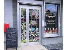 ホームネイルサロン 戸田 ミハ フルーラ(Home Nail Salon Mija Flura)の雰囲気(入りやすい路面店。この外観を目印にお越し下さい♪)