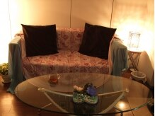 リラクゼーションアンド整体サロン 睡蓮(suiren)の雰囲気(優しい明りの中で、ゆっくり寛げる雰囲気を大切にしています。)