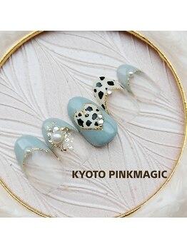 ピンクマジック(PINKMAGIC)/ダルメシアンネイル