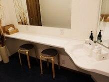 ラベルタ(La Belta)の雰囲気(清潔感溢れる空間♪シャワー設備やメイクスペース完備!)