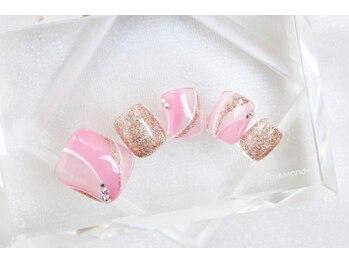 フット☆春のプッチ柄ピンク