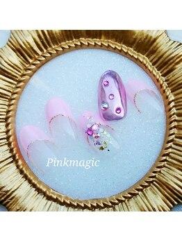 ピンクマジック(PINKMAGIC)/ミラーネイル