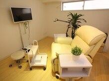 施術は個室スペースもございます!