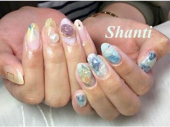 シャンティ ネイルサロン(Shanti nail salon)/天然石とワイヤーネイル☆