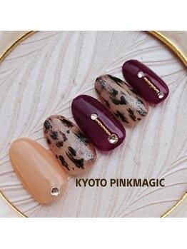 ピンクマジック(PINKMAGIC)/レオパードネイル