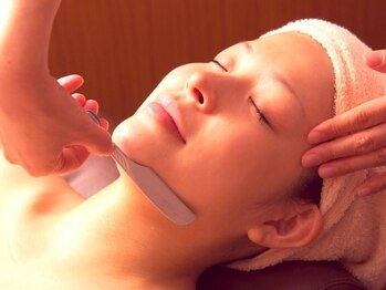 ヘアモード キクチ 銀座店(HAIR MODE KIKUCHI)の写真/【ブライダルシェ-ビング45分¥4950】顔・えりあし~背中の肩甲骨まで、処理しづらい箇所もツルツル美肌に♪