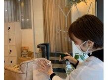 ゴシップネイル 西梅田店(GOSSIP NAIL)の雰囲気(マスクの着用・消毒の徹底ウイルス対策を万全に行っております。)