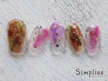 シンプリー ネイルアンドアイラッシュ 祖師谷大蔵店(Simpliee Nail&Eyelash)/定額初回6490