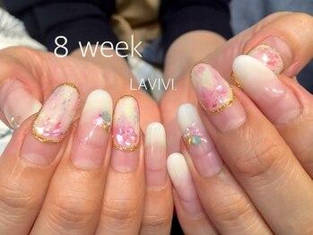 ラヴィヴィ 表参道店(LAVIVI.)/ジェル施術8週間後 表参道店