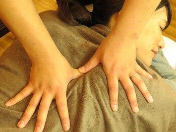"""整体プライベートサロン くまの手の写真/長年悩み続けてきた体の歪みを""""くまの手""""でリセットしませんか?【整体・骨格調整コース60分¥3240】"""