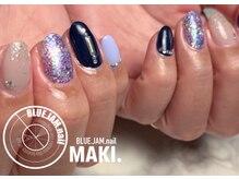 ブルージャムネイル(BLUE.JAM.nail)/SMALLコース☆design by MAKI