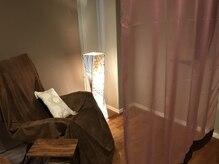 ディルマコーソサロン(di rumah KOSO salon)の雰囲気(ラグジュアリーな空間。仕切りありで視線を気にせずくつろげます)