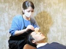 メンズ眉毛専門サロン アンプラスの雰囲気(あなたにピッタリの眉毛をご提案します♪)