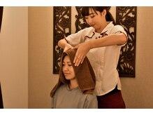 ルアンルアン ヘルスアンドビューティーモール 新宿マルイ本館店(Health Beauty MALL)の雰囲気(リフレとドライヘッドのコースにはストレッチもついてきます♪)