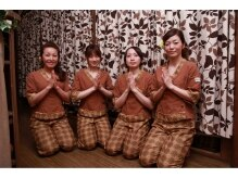 タイ古式マッサージ ラ イム 松戸店/熟練のスタッフ達