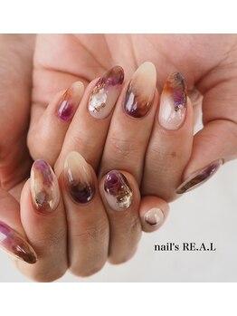 ネイルズリアル(nail's REAL)/もやもやネイル