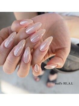ネイルズリアル(nail's REAL)/美爪ロングさん