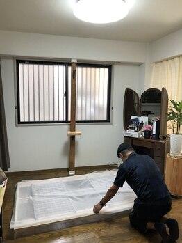 みゆき/出窓DIY 1