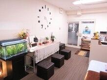 全てはお客様の癒しのために♪心地の良い空間作りを心がけております。