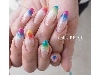 ネイルズリアル(nail's REAL)/ジェリップネイル
