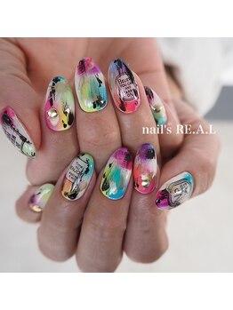 ネイルズリアル(nail's REAL)/夏ネイル