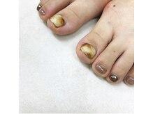 ネイルアトリエ ボン(nail atelier bon)/フットシェラックネイル