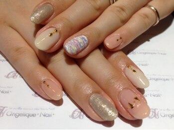 アンジェリーク ネイル(angelique nail)/ジェルネイルan-3¥10,260