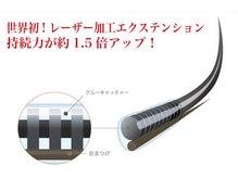 ルプラス(LUPLUS)/レーザー加工エクステ使用☆