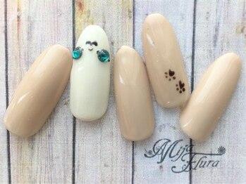 ホームネイルサロン 戸田 ミハ フルーラ(Home Nail Salon Mija Flura)/シンプル ¥5980 I146S