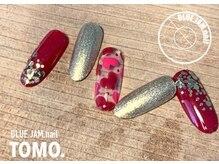 ブルージャムネイル(BLUE.JAM.nail)/12月キャンペーンデザイン