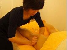 脚のむくみ、筋肉疲労、怠いを改善する強揉み施術で効果的♪