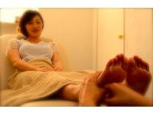 ヘアーアンドリラクゼーション ラシック(Hair&Relaxation LA.CHIC)の雰囲気(フットリフレ・ボディケアets...疲れに合わせてコース提案します)