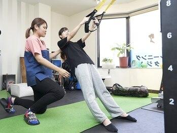 東京小顔 大船店の写真/【AVAパーソナルトレーニング/体験もあります♪】インナ-マッスルを鍛え内側から美しさを引き出します!
