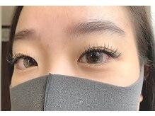 パールアイラッシュ(Pearl eye lash)/CCカール 真ん中12 目尻11